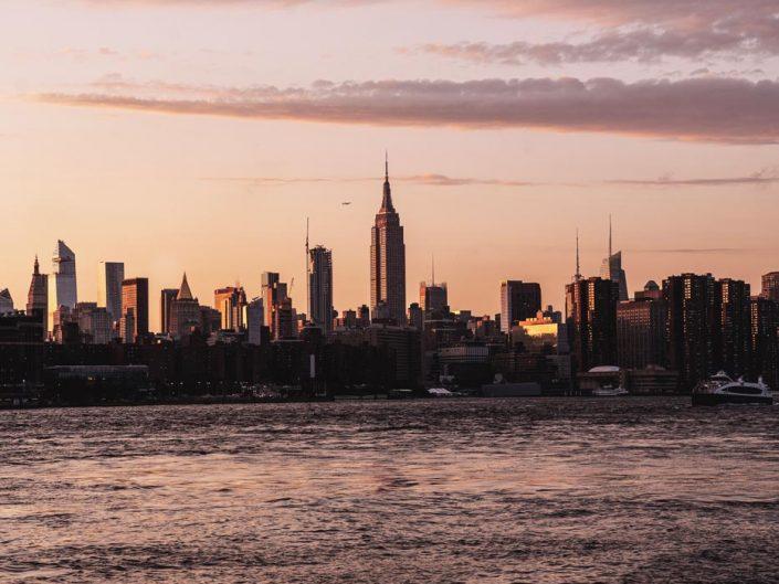 Voyage de 10 jours à New York en septembre 2019 - Coucher de Soleil