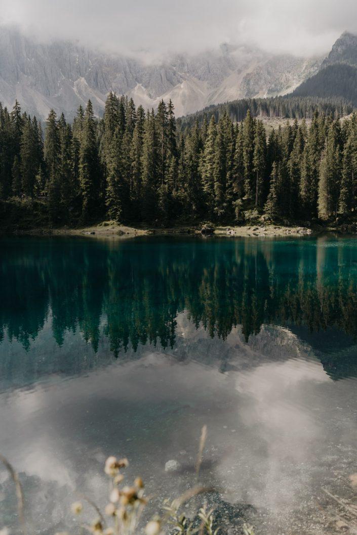 Voyage dans les Dolomites - Le Lago di Carezza