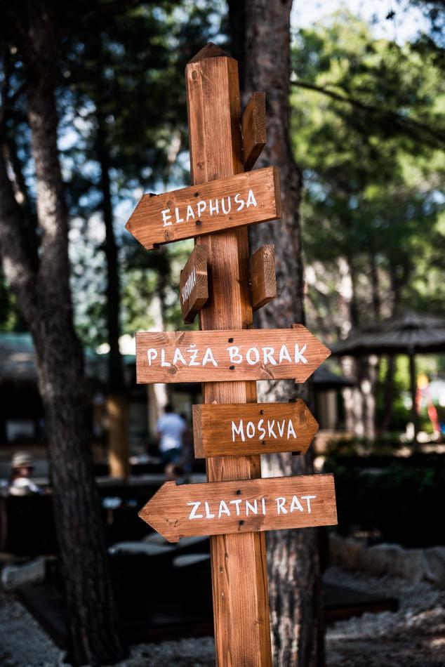 Road-Trip en Croatie - Voyage d'une semaine - plage de Zlatni Rat à Bol