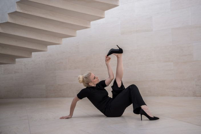 Photoshoot Mudam Luxembourg Sarah Baltzinger Danseuse Metz Photographe