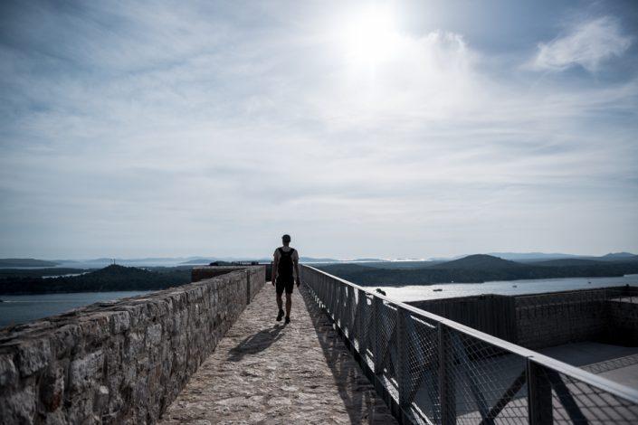 Road-Trip en Croatie - Voyage d'une semaine - Forteresse Sibenik