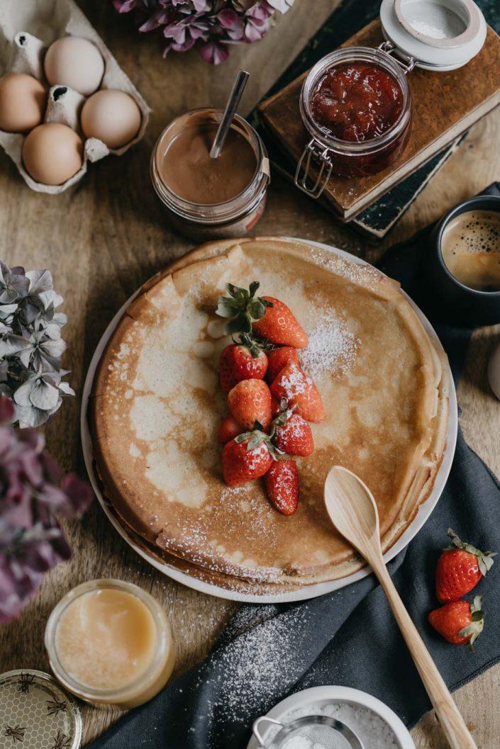 Photographe Culinaire à Metz - Photo de Crepes
