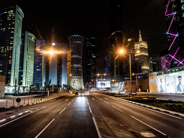 Roadtrip en Namibie, petit tour de Doha lors de notre escale de 10h