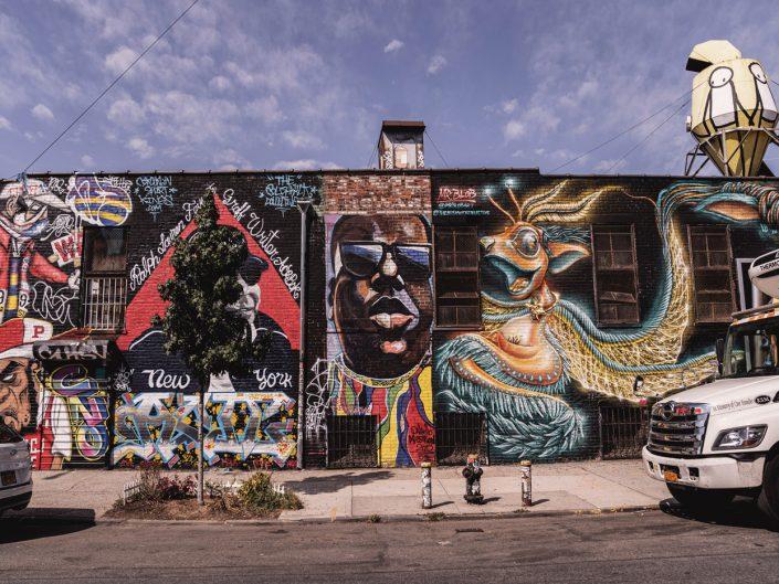 Voyage de 10 jours à New York en septembre 2019 - Le Street Art à Bushwick et Williamsburg