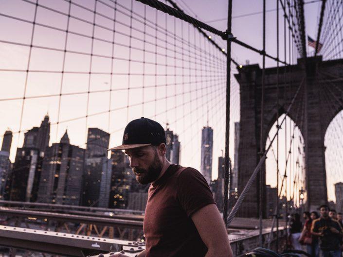 Voyage de 10 jours à New York en septembre 2019 - Brooklyn Bridge de nuit