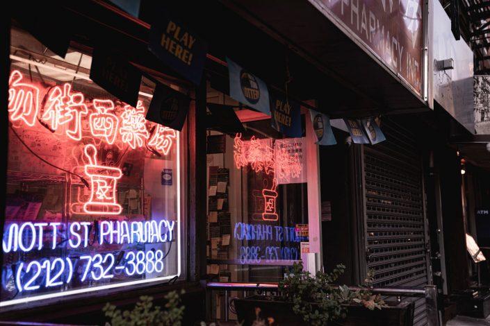Voyage de 10 jours à New York en septembre 2019 - Le quartier Chinois, Chinatown