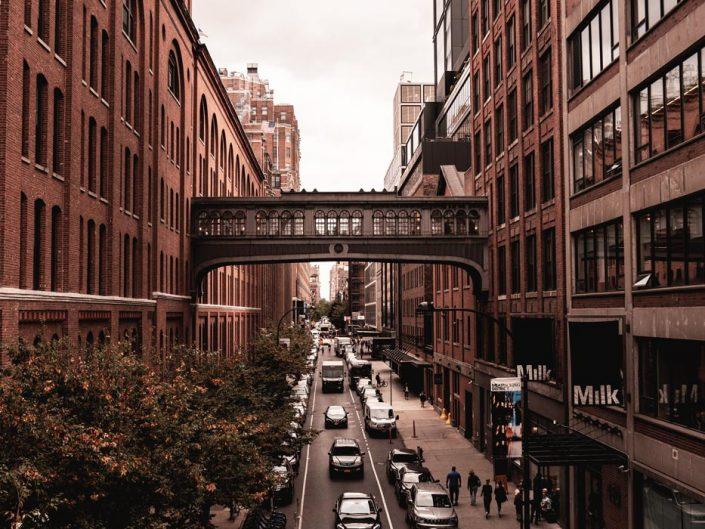 Vue sur Manhattan depuis la High Line
