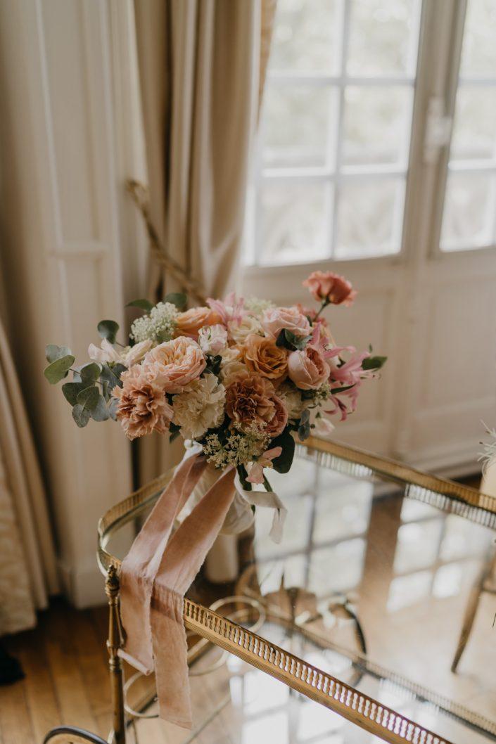 Photographe de Mariage au Château d'Hattonchâtel - Le bouquet de la Mariée par Un dix-neuf Septembre