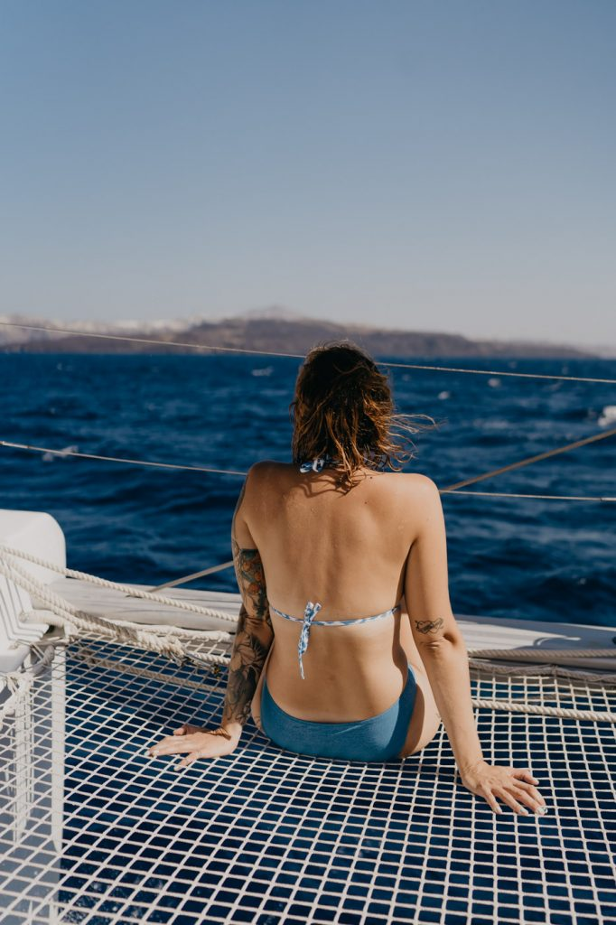 Excursion en bateau à Santorin