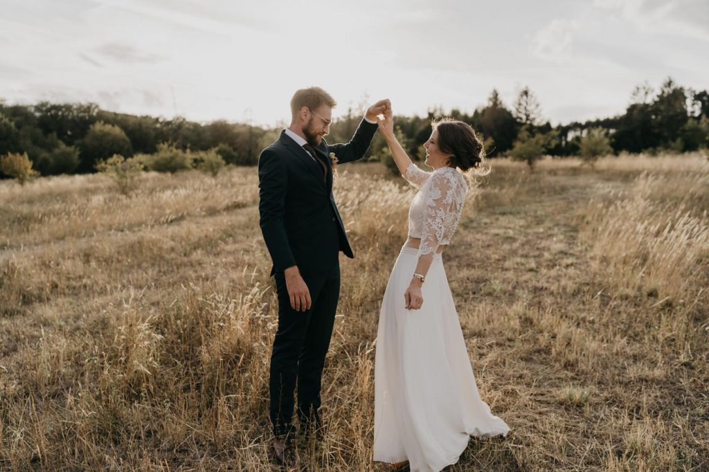 Photographe de Mariage Metz - Séance de Couple au coucher du soleil