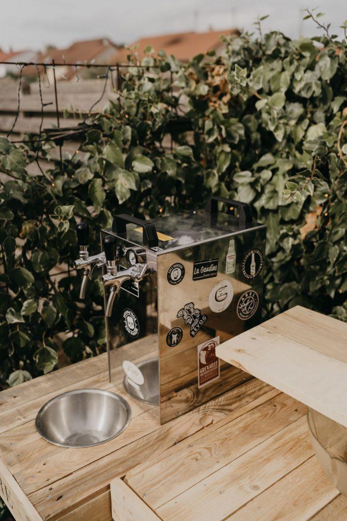 Photographe de Mariage Metz - décoration DIY du vin d'honneur