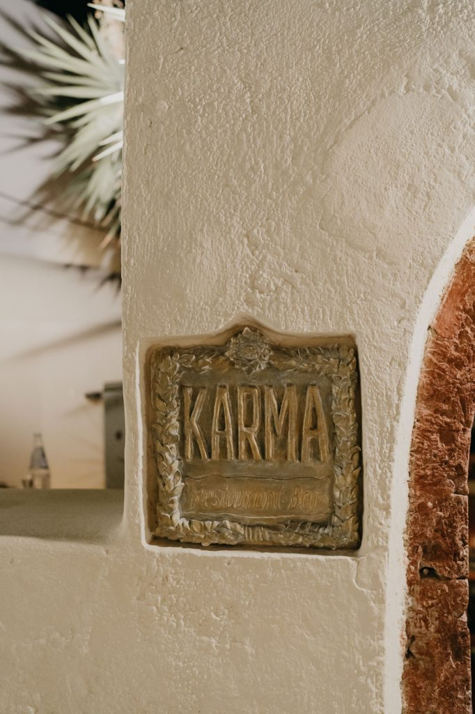 Restaurant Karma à Oia- Santorin