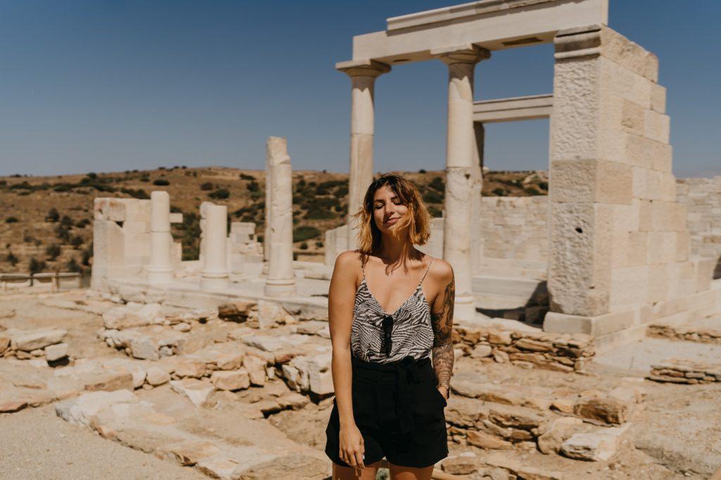 Temple de Demeter - Île de Naxos