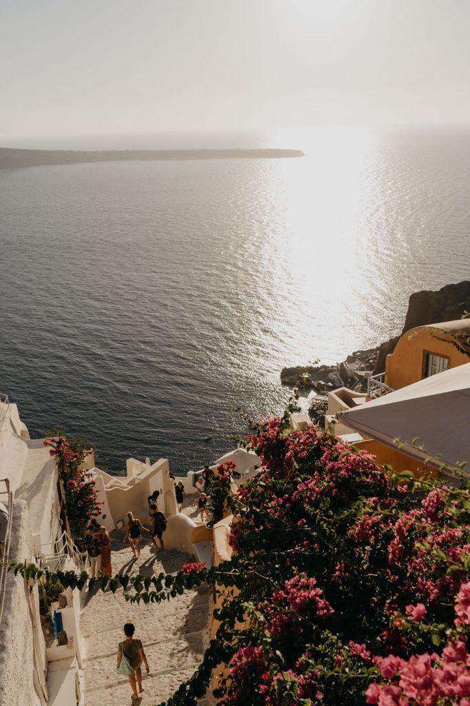 Visiter Santorin - le Village d'Oia