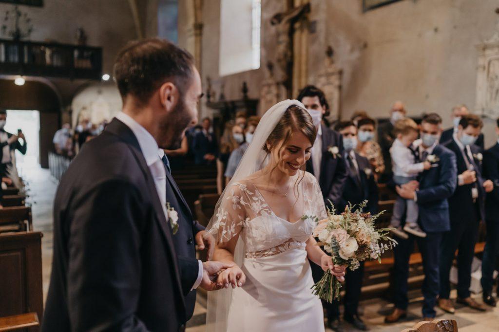 Mariage à l'église de Cons-la-Grandville