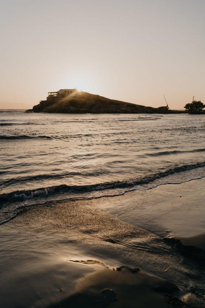 Coucher de Soleil à Naxos