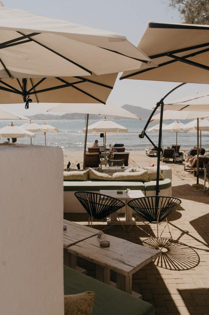 Kalergis Studios à Naxos - Les pieds dans l'eau