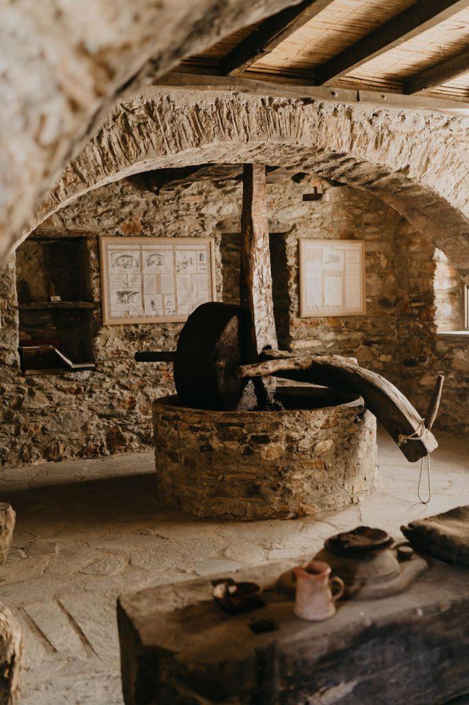 Pressoir à Olives de Damalas, à Naxos