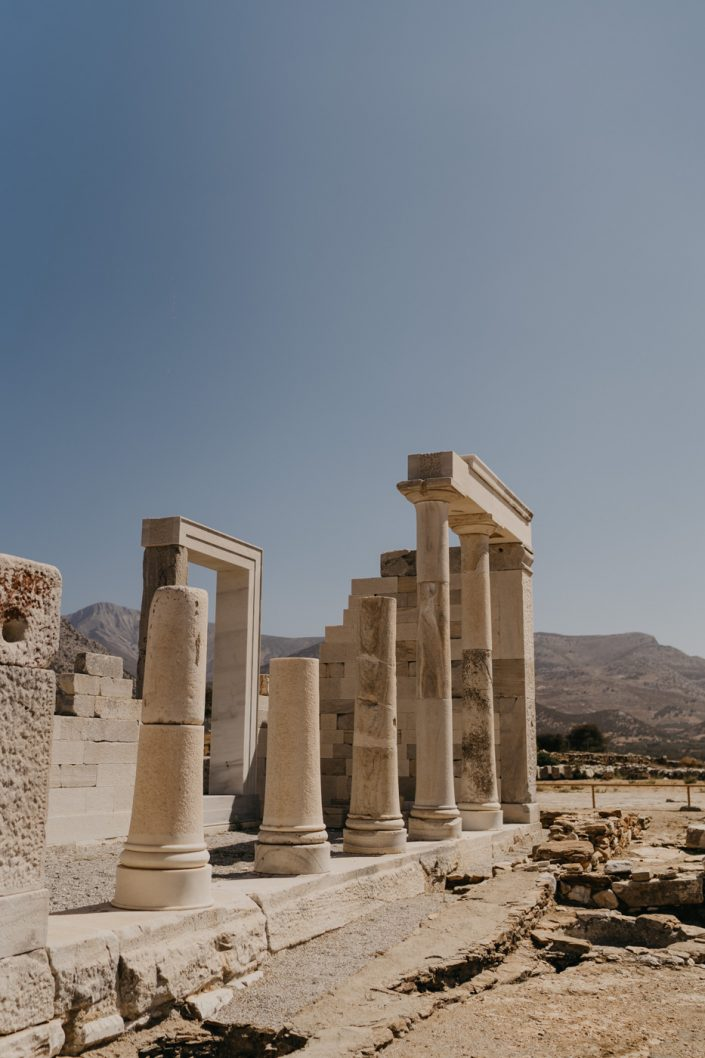 Temple de Demeter à Naxos dans les Cyclades
