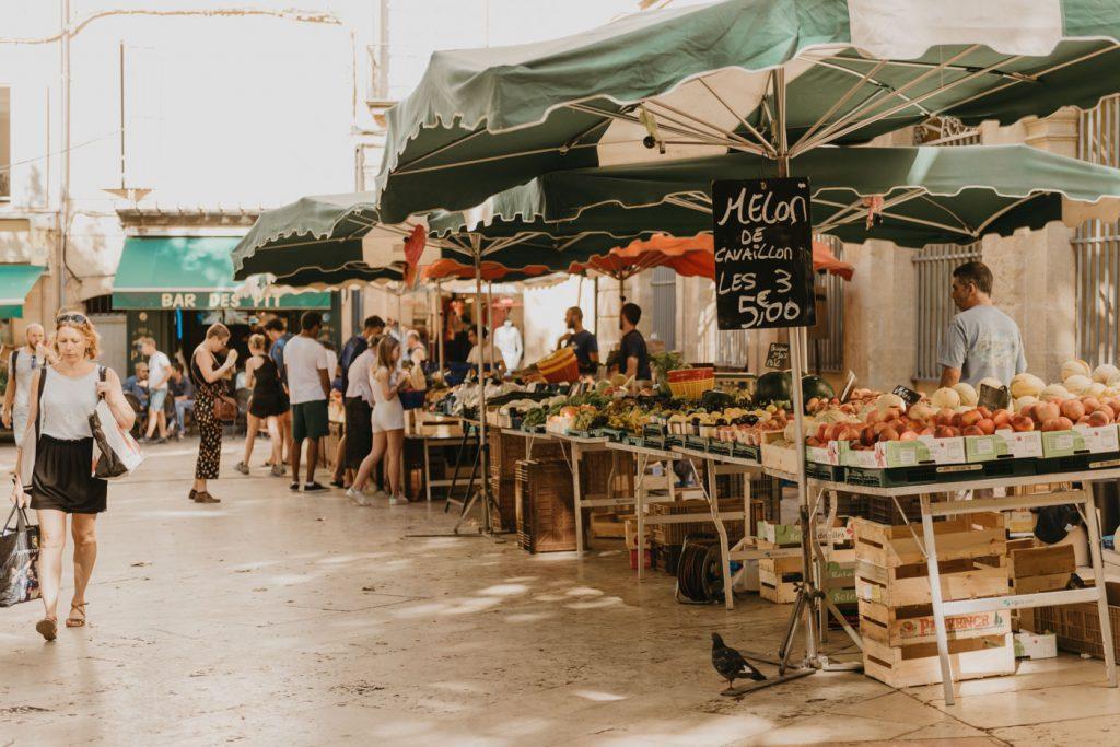 Le marché d'Aix-en-Provence