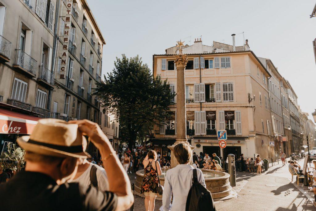 Aix-en-Provence : Promenade à travers ces ruelles