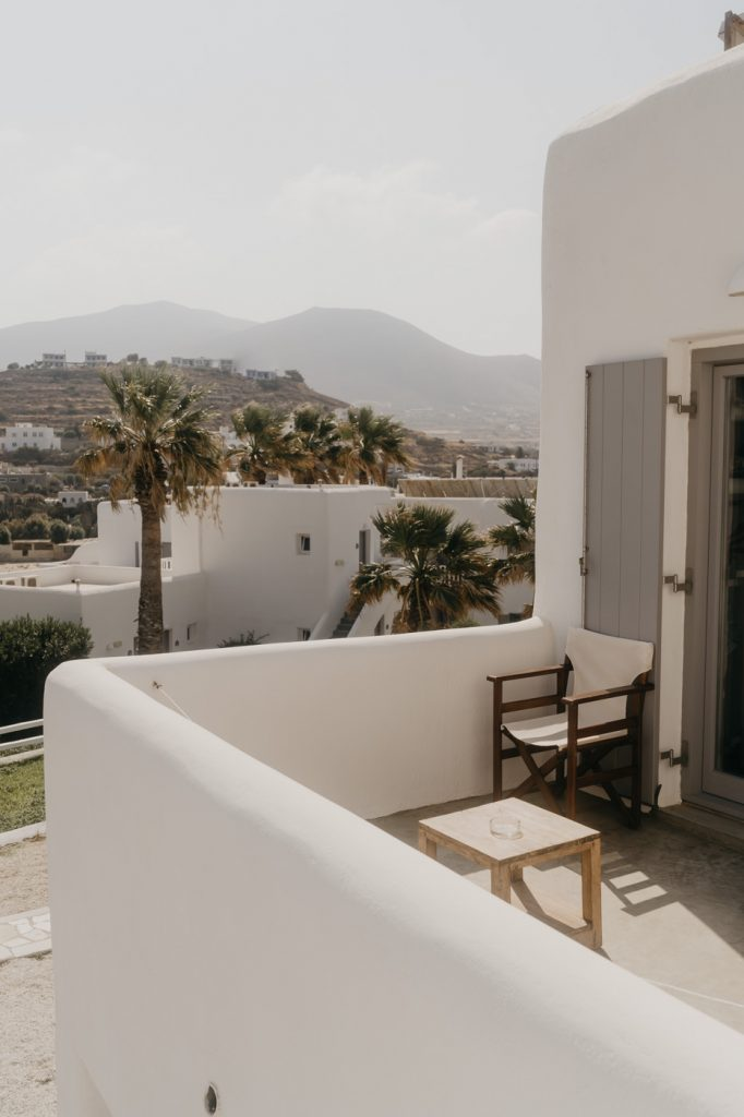 Logement sur l'île de Paros - Hôtel Paros Bay