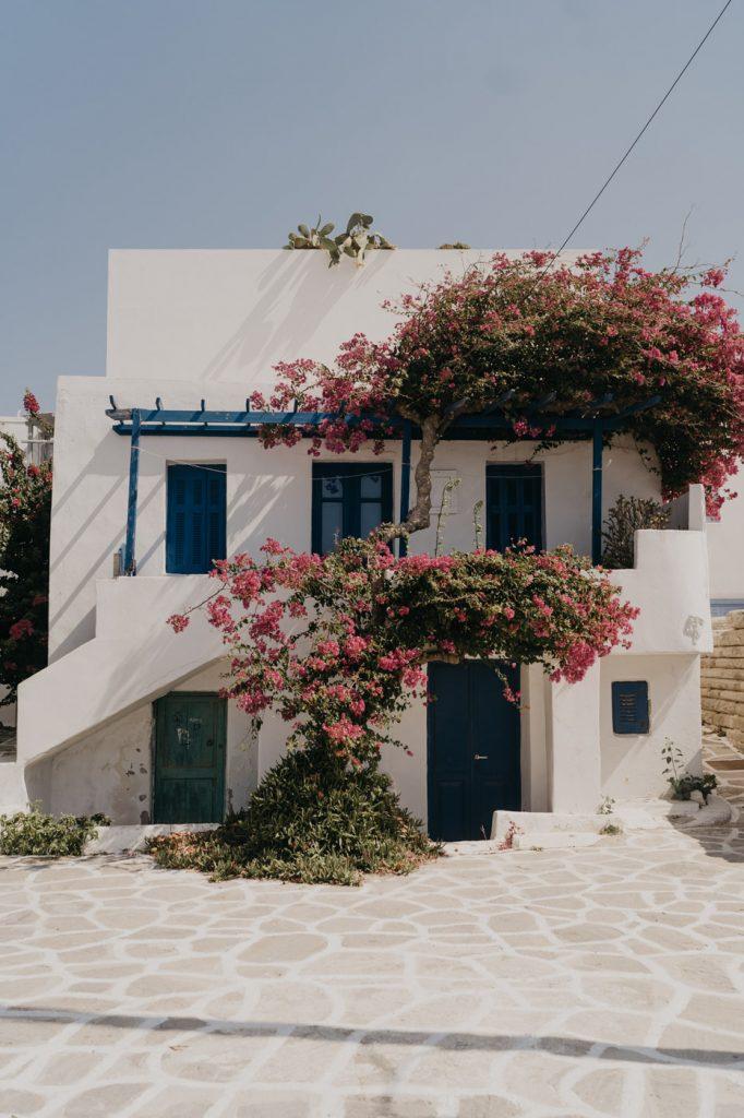 Vacances à Paros - Découverte du centre ville de Parikia