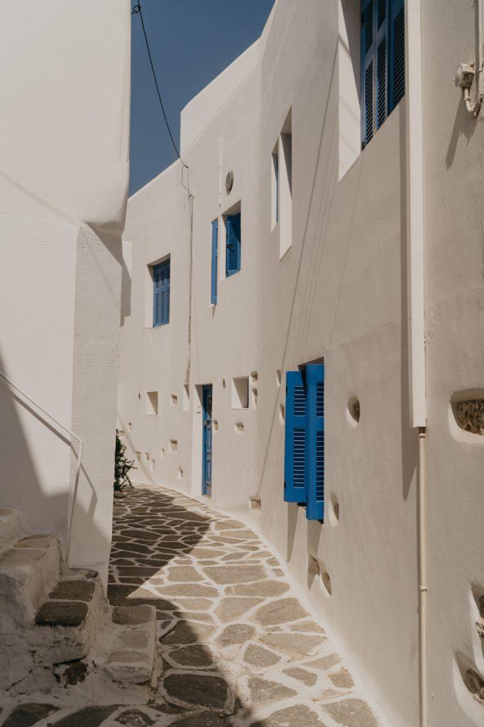 Vacances dans les Cyclades - île de Paros