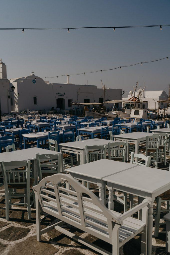 Vacances à Paros - Découverte du centre ville de Naoussa