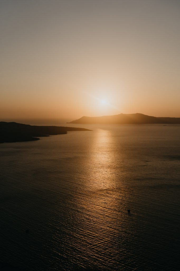 Coucher de Soleil à Santorin - Fira