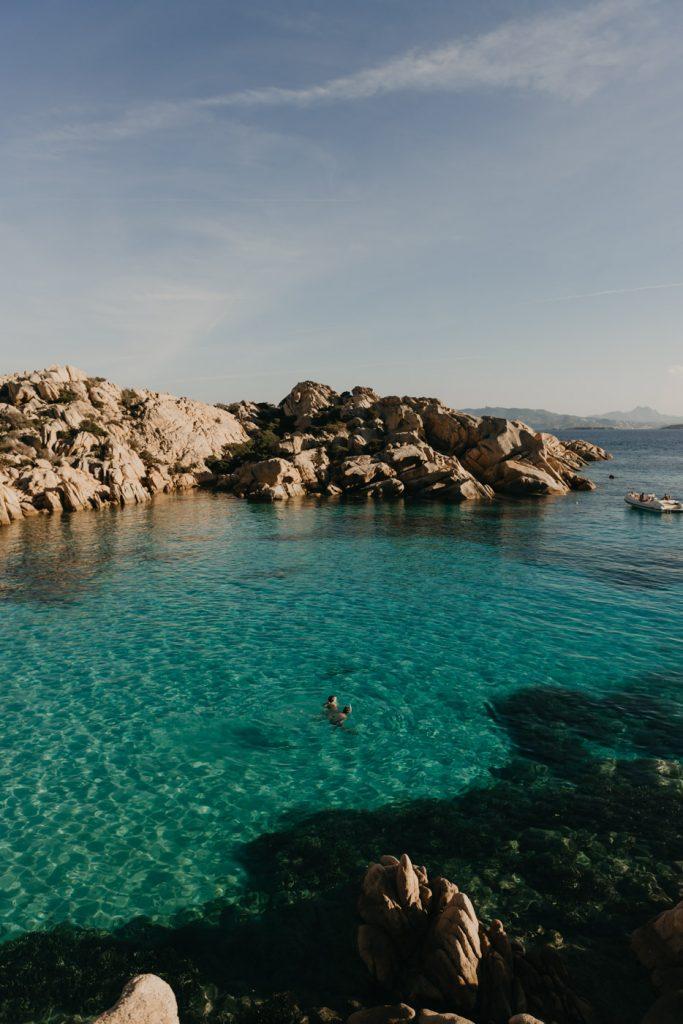 Road Trip en Sardaigne - La Cala Coticcio sur l'île de la Maddalena