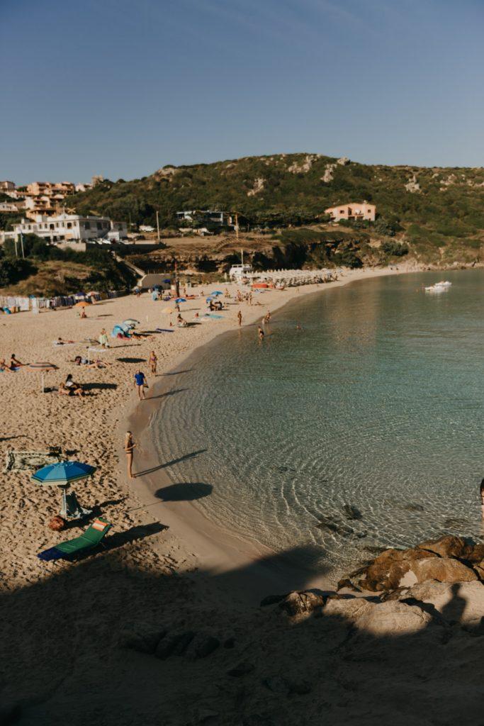 Road Trip en Sardaigne - La plage de Rena Bianca au matin