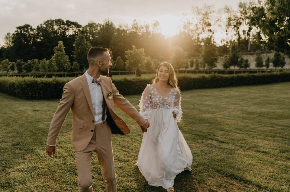 Un mariage au Château de la Trye