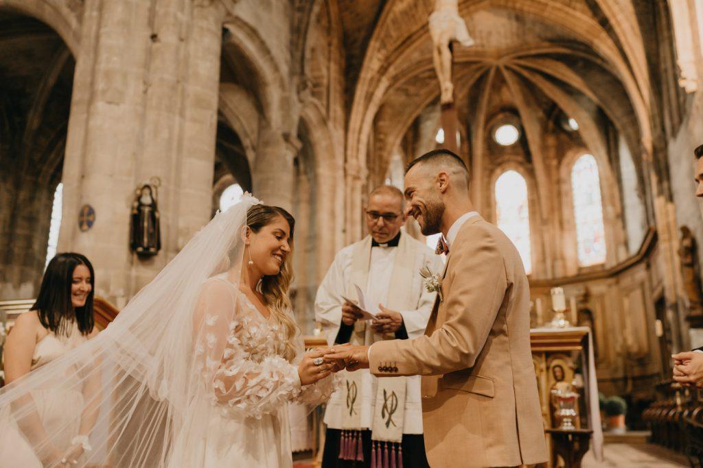 Cérémonie religieuse - Mariage au château de la Trye