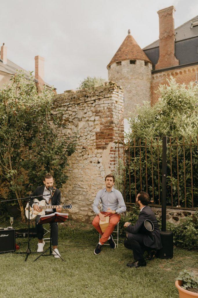 Le vin d'honneur - château de la Trye